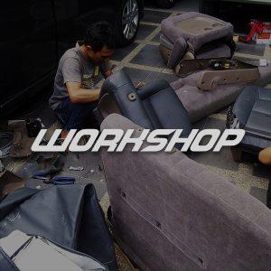 Sarung Jok Mobil Bandung WorkshopSarung Jok Mobil Bandung Workshop